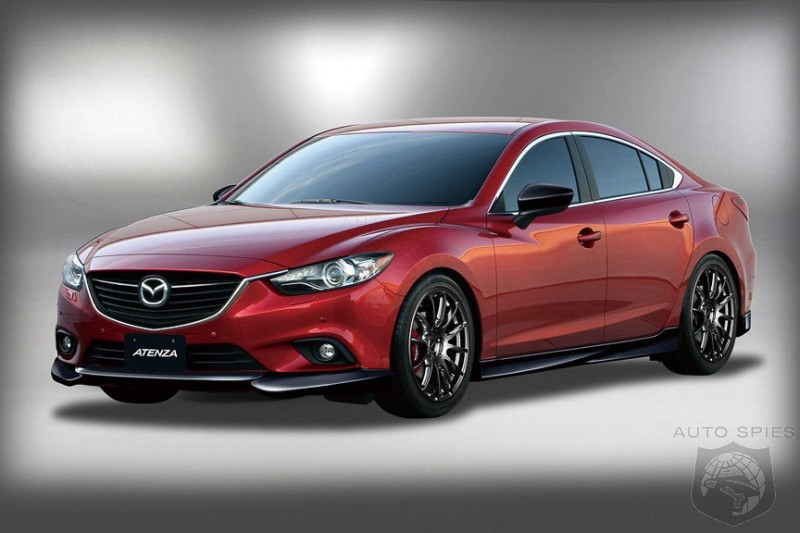 RUMOR: IF Mazda Built These Sportier Mazda6s and CX-5s Would They Do ANYTHING For You?